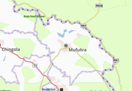 Mapa Plano Mufulira