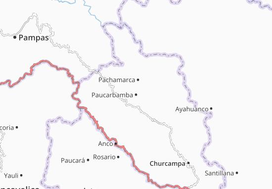 Carte-Plan Paucarbamba