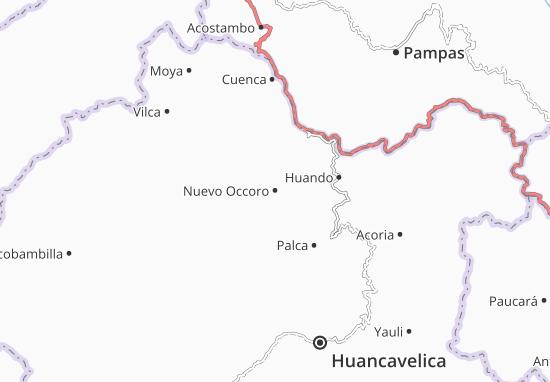 Mappe-Piantine Nuevo Occoro