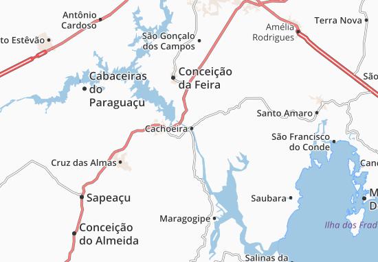 São Félix Map