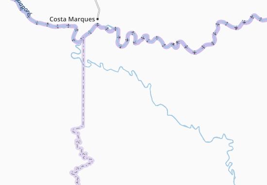 San Borja Map