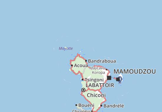 Kaart Plattegrond Handréma