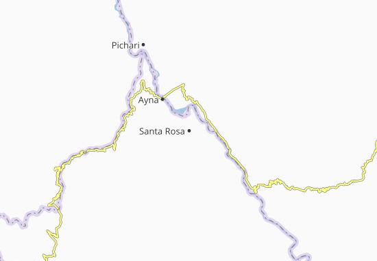 Mappe-Piantine Santa Rosa