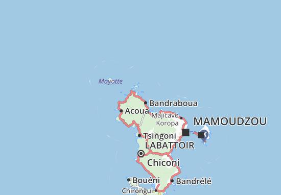 Mtsangamboua Map