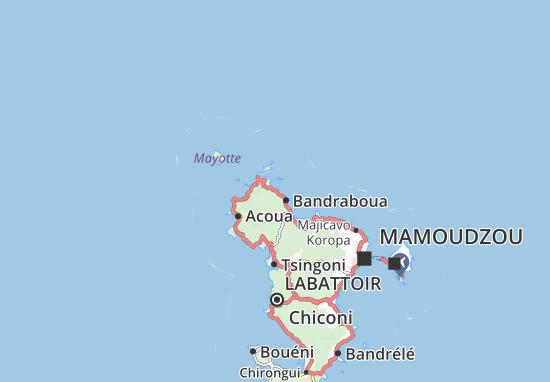 Mapa Plano Bouchini