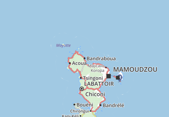 Mapas-Planos Bandraboua