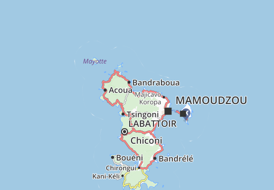 Mapa Plano Mitséni