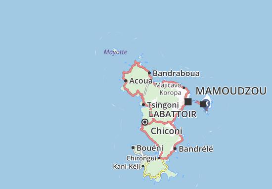 Mappe-Piantine M'Tsangamouji