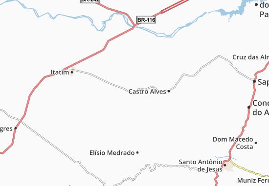 Santa Teresinha Map