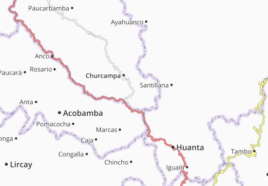 La Merced Map