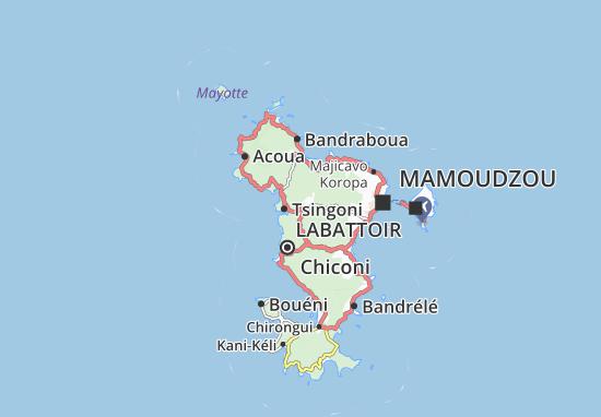 Mapa Plano Mrowalé