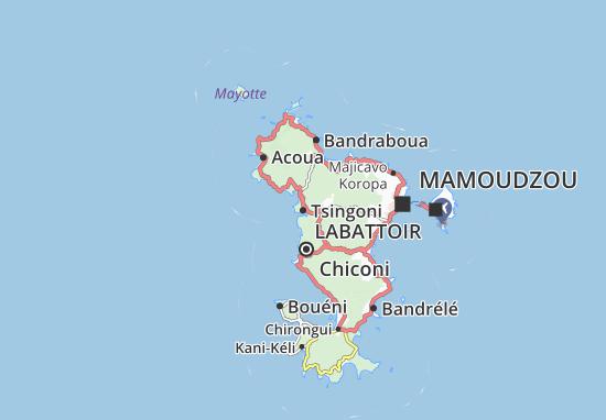 Mapas-Planos Tsingoni