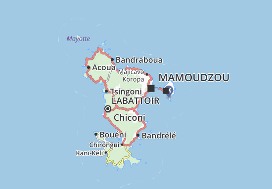 Mapa Plano Kwalé Légion