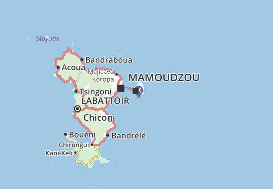 Mapa Plano Pamandzi