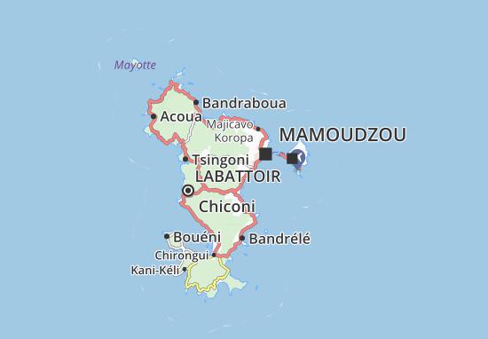 Mapa Plano Kwalé