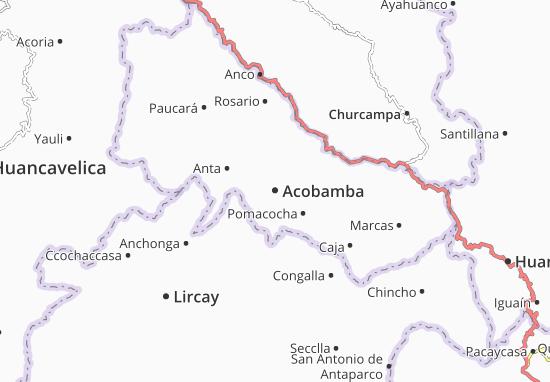 Acobamba Map