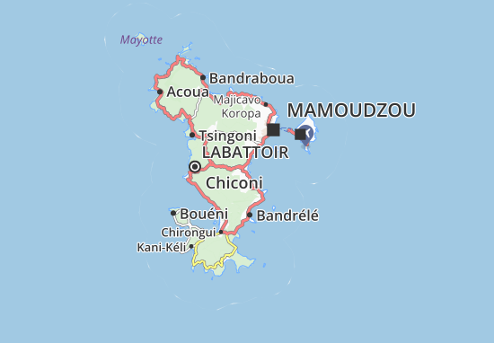 Kaart Plattegrond Iloni