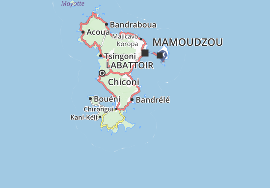 Mapas-Planos Nyambadao