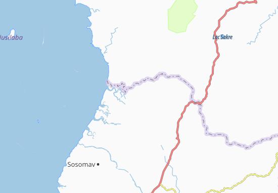 Carte-Plan Antsatrabonko
