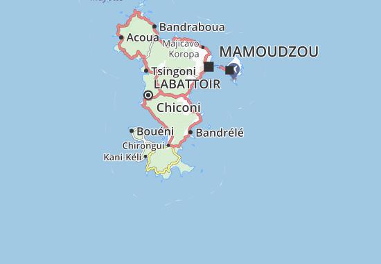 Mapas-Planos Bandrélé