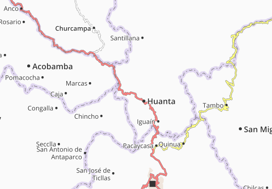 Luricocha Map