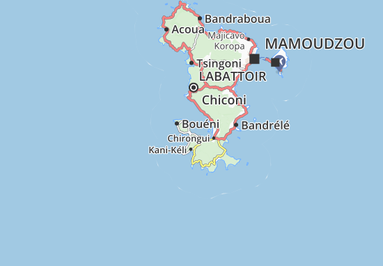 Majiméouni Map