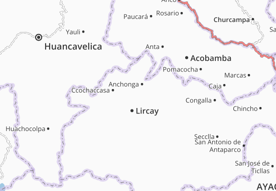 Huayllay Grande Map