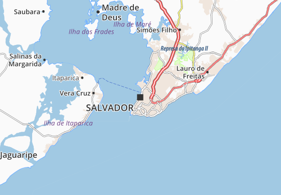 Salvador Map: Detailed maps for the city of Salvador ... on uruguay map, bage map, lima map, brazil map, nicaragua map, kusti map, the landing map, buenos aires map, costa rica map, taiohae map, sert map, mexico map, honduras map, peruana map, central america map, santiago map, passo fundo map, caracas map, south america map, world map,