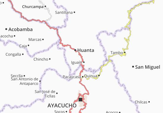 Iguaín Map