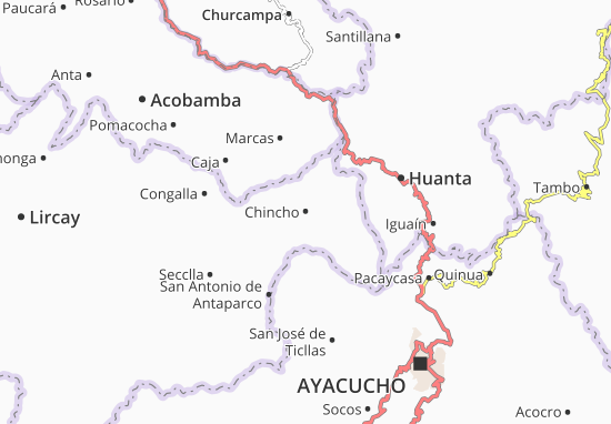 Chincho Map