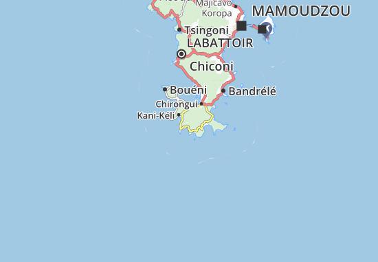 Mapa Plano Passi-Kéli