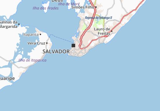 Carte Routiere Bresil Nordeste.Carte Detaillee Nordeste Plan Nordeste Viamichelin