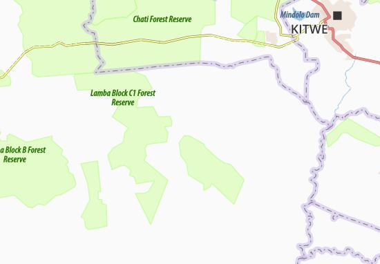 Kaart Plattegrond Lufwanyambe