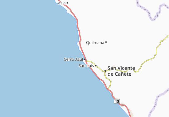 Mapas-Planos Cerro Azul