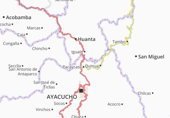 Carte-Plan Pacaycasa