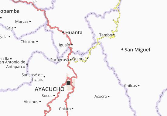 Quinua Map