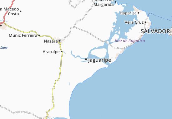 Jaguaripe Map