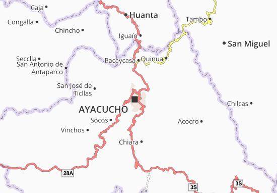 Jesús Nazareno Map