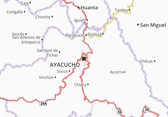 Ayacucho Map