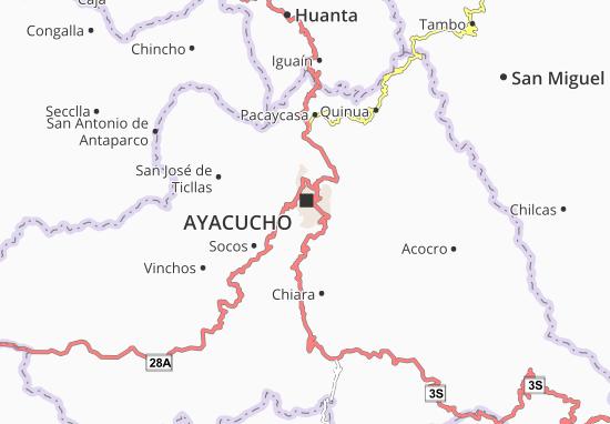 Carmen Alto Map