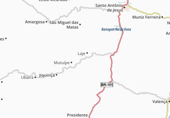 Laje Map