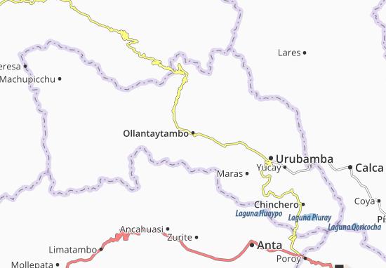 Carte-Plan Ollantaytambo