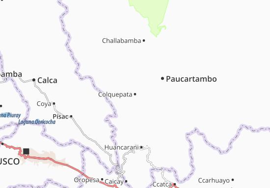 Colquepata Map