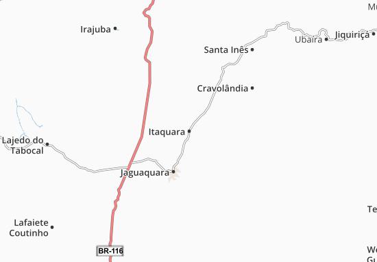 Mapas-Planos Itaquara