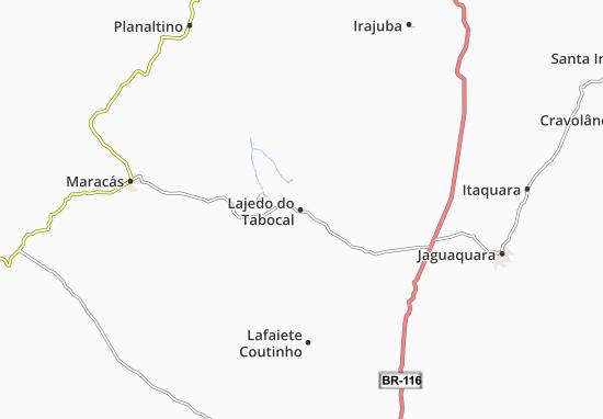 Lajedo do Tabocal Map