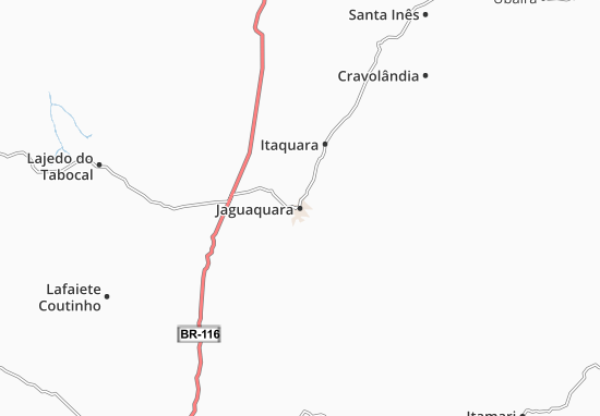 Carte-Plan Jaguaquara