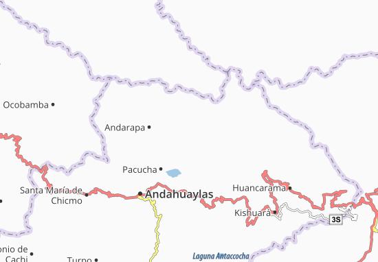 Kaquiabamba Map