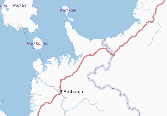 Carte-Plan Andilamboay