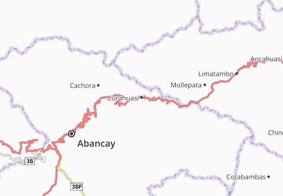 Curahuasi Map
