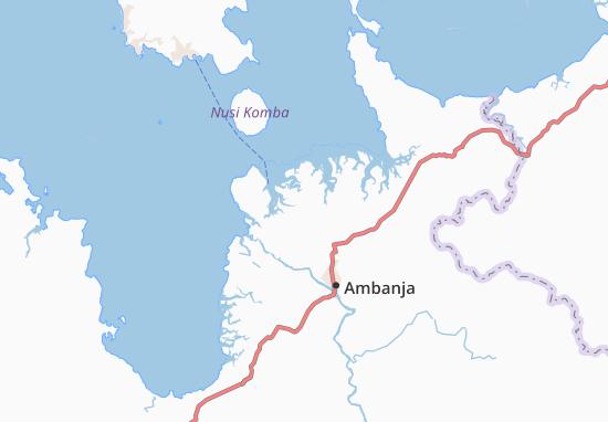 Carte-Plan Antsahampano